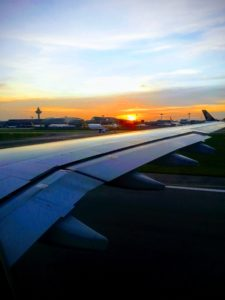 Starboard Wing of Cebu Pacific 5J806