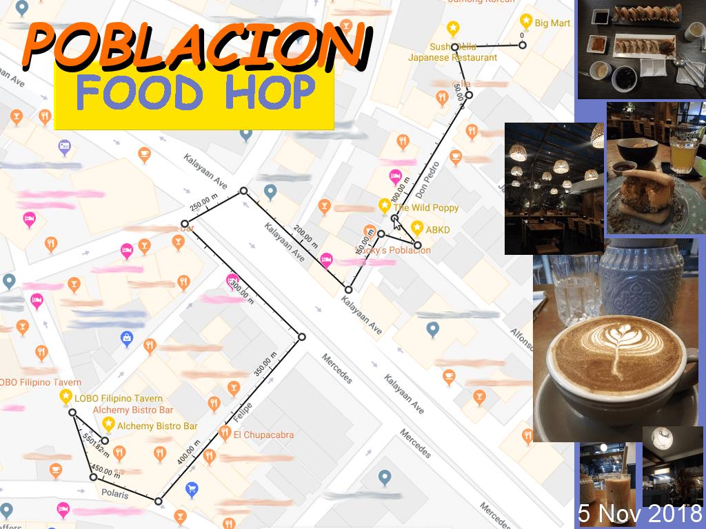 Poblacion Makati Food Hop